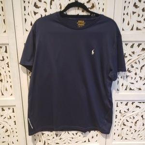 Polo Ralph Lauren Navy Blue Performance Shirt